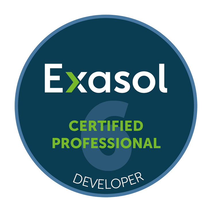 Exasol Certified Developer V6