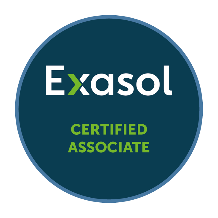 Exasol Certified Associate
