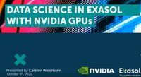 DataScience with Exasol and Nvidia
