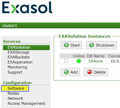 2_EXASolution_main_menu_showing_Software.png