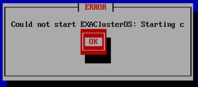 1-could not start exacluster OS.png